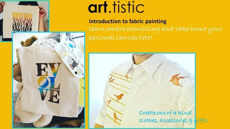 Introduction to fabric painting